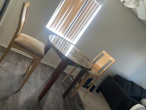 Table and two chairs price going for $100 for everything. In good condition. *pick up only* for Sale in Norco, CA