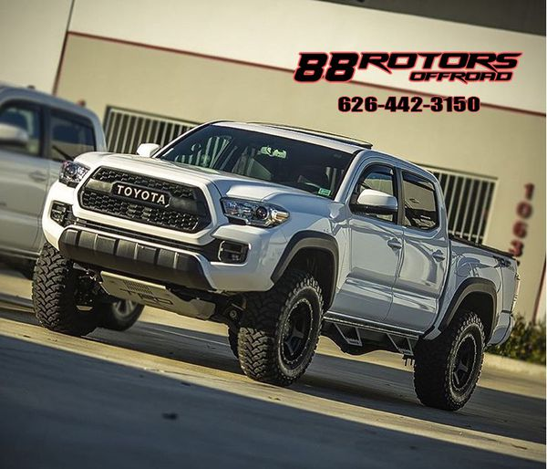 88 Rotors Offroad Lift Package Wheels & Tires For Sale In
