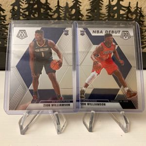 Zion Williamson Mosaic Rookie Cards Nba Basketball for Sale in Lafayette, CA