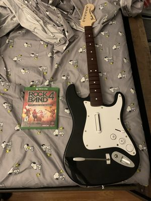Rock Band 4 with guitar for Sale in Los Angeles, CA