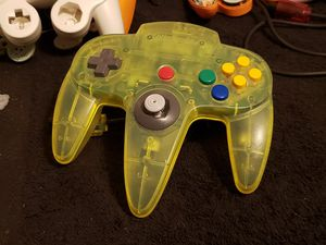 Nintendo 64 Extreme Lime Controller N64 - Beautiful & Mint for Sale in Bakersfield, CA
