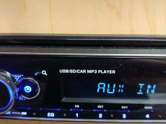 Blaupunkt mp3 receiver Bluetooth usb aux remote control 4 channel audio output ( not cd player ) Brand New In Box for Sale in Downey,  CA