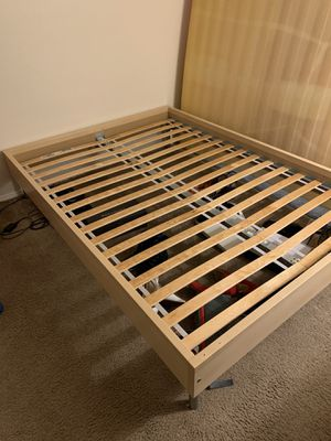 Ikea full size bed frame for Sale in Des Moines, WA