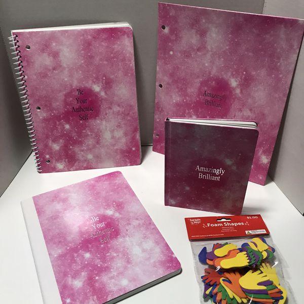 5 school supplies notebook