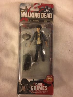 Carl Grimes Walking Dead Action Figure series 4 for Sale in San Diego, CA
