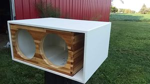 2 12 custom sub box for Sale in Lima, OH