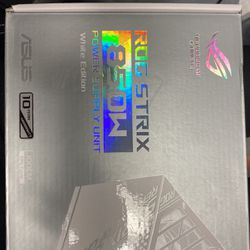 ASUS ROG STRIX 850W PSU WHITE EDITION (USED) for Sale in Jersey City,  NJ
