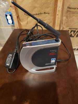 Buffalo Technology Wireless - G High Power Router With Access Point for Sale in York Haven, PA