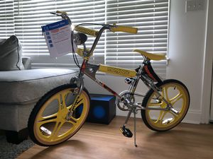 Mongoose Stranger Things BMX bike limited sold out Rare freestyle bike for Sale in Decatur, GA