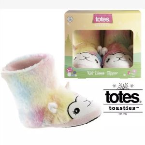 New Girls Totes Toasties Llama Boot Slippers Size M/D 13-1 (pick up only) for Sale in Alexandria, VA