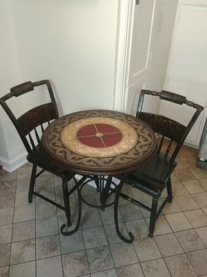 Bistro Table & Two Hitchcock Chairs for Sale in Mount Rainier, MD