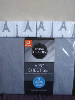 6 pc. Sheet set for Sale in San Diego, CA