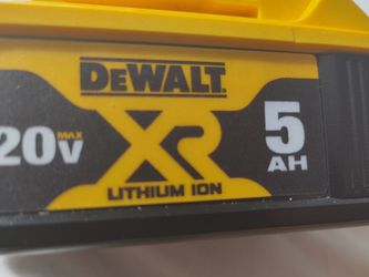 DEWALTXR 20-Volt Max 5 Amp-Hour Battery for Sale in Meridian,  ID