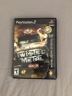 Twisted Metal Head On Extreme Twisted PlayStation 2 for Sale in Pompano Beach,  FL
