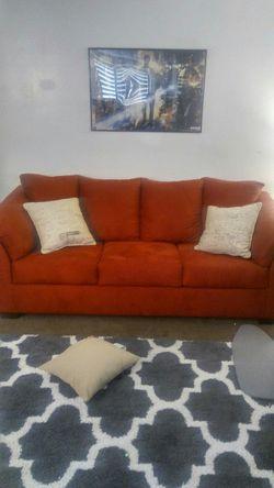Red Sleeper Sofa Loveseat Set for Sale in South Salt Lake,  UT