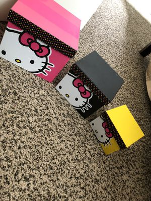 official hello kitty boxes 3 set for Sale in Broadview Heights, OH