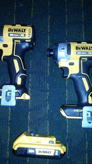 Dewalt 20 volt max Xrbrushless impact ×2 for Sale in Greenville, SC