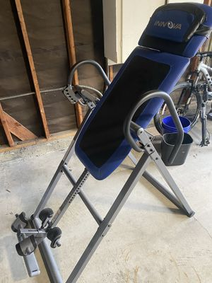 Innova Health and Fitness ITM4800 Advanced Heat and Massage Therapeutic Inversion Table for Sale in Downey, CA