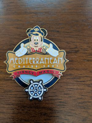 Disney Mediterranean Cruise Disney Magic 2007 pin with Mickey Mouse for Sale in Glendale, AZ