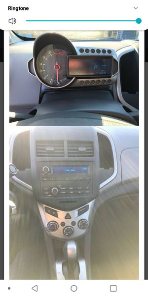 2016 Chevy sonic hatchback (summit white) with 47,000 miles and comes with 4 yr warranty(136000), clean title, clean carfax for Sale in Palos Hills, IL