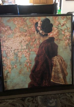 Nice picture of a geisha ! Got it only 2 years ago pay 300 asking 75 obo for Sale in Diamond Bar, CA
