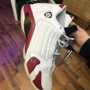 NIKE AIR JORDAN 14 RETRO OG RELEASE CANDY CANE RED AJ14 MENS SIZE 12 for Sale in Smyrna, GA