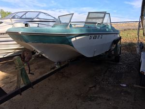 Fishing boat no motor. Glastron 60's with trailer OBO MAKE OFFER! for Sale in Riverside, CA