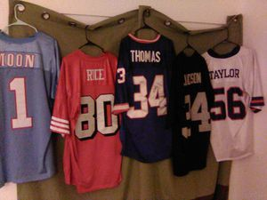 NFL throwback Mitchell & Ness Size 52 54 prices vary for Sale in Mesa, AZ