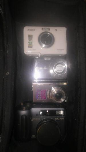 (4) Camera's lot - $50 for Sale in Modesto, CA