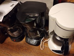 Coffee Makers Galore! Six of 'em for Sale in Seattle, WA