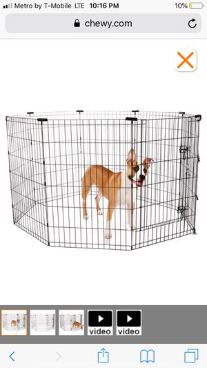 Frisco 30' pet play pen brand new unopened for Sale in Shoreline, WA