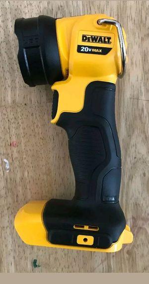 Dewalt 20v flashlight for Sale in Arlington, VA