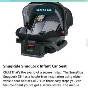 Graco Infant Car Seat, car seat base and stroller for Sale in Orlando, FL
