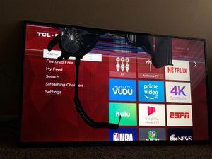 "TCL 55"" Roku TV for Sale in Carrollton, TX"