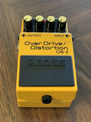 BOSS OS-2 Overdrive + Distortion Guitar Pedal for Sale in Fresno, CA