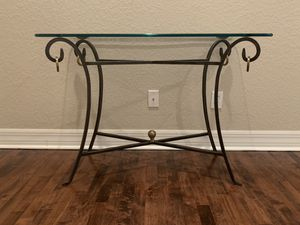 Console entryway table for Sale in Tampa, FL