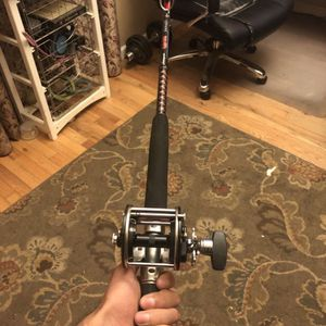 Penn Reel And Ugly Stick Ocean Striker Rod for Sale in Morgan Hill, CA