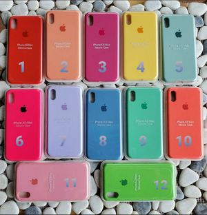 Iphone XS Max Case Silicone for Sale in Kissimmee, FL