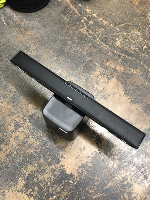Polk audio soundbar with wireless sub great condition great sound with remote for Sale in Dallas, TX