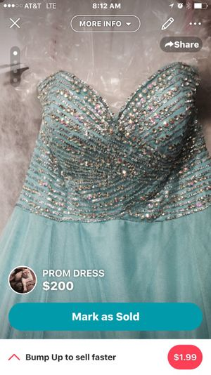 Prom Dress for Sale in Saucier, MS