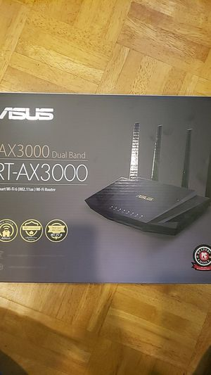 Asus Rt-Ax3000 wifi 6 router for Sale in Baldwin, NY