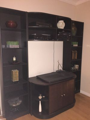Entertainment Center (Wood) . $100 Pick up today for Sale in Atlanta, GA