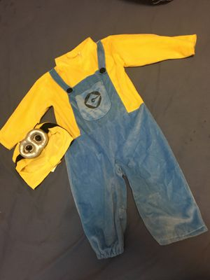 Minion Costume For Toddler for Sale in Auburndale, FL