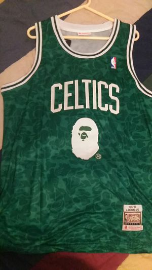 Celtics Bape jersey (xl) $60 for Sale in El Mirage, AZ