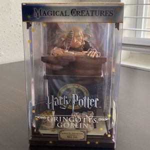 Harry Potter Magical Creatures Number 10 Gringotts Goblin for Sale in St. Louis, MO