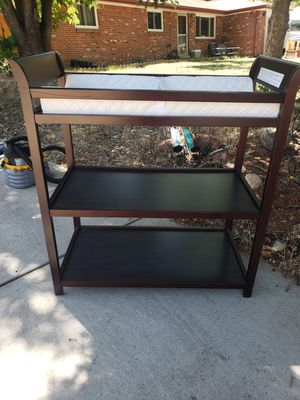 Changing Table- Cherry Wood for Sale in Denver, CO