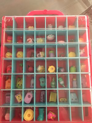 53 Shopkins and case for Sale in Fontana, CA