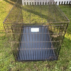 Metal Dog Cage Kennel Crate - 48 Inches Long for Sale in Parkland, WA