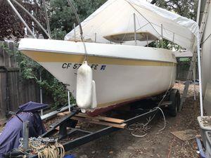 26' clipper marine sailboat $1500 obo for Sale in Rio Linda, CA