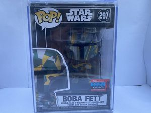 Star Wars boba fett funko pop & slave one sling bag for Sale in St. Petersburg, FL